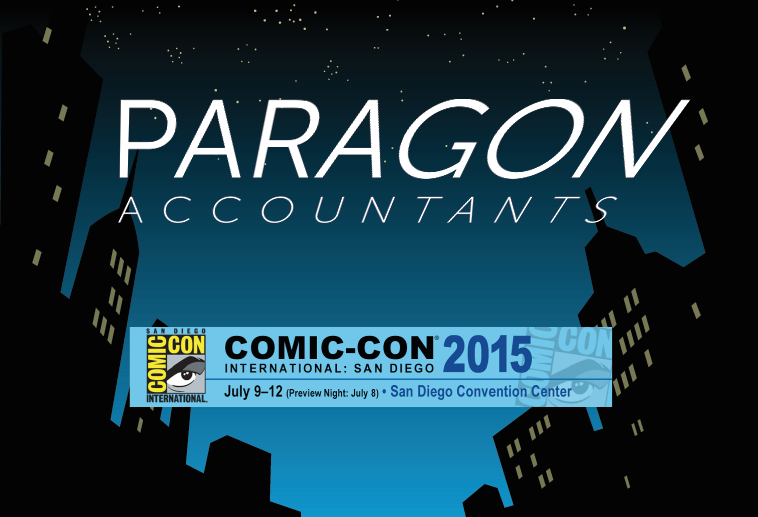 Paragon will be at Comicon 2015!
