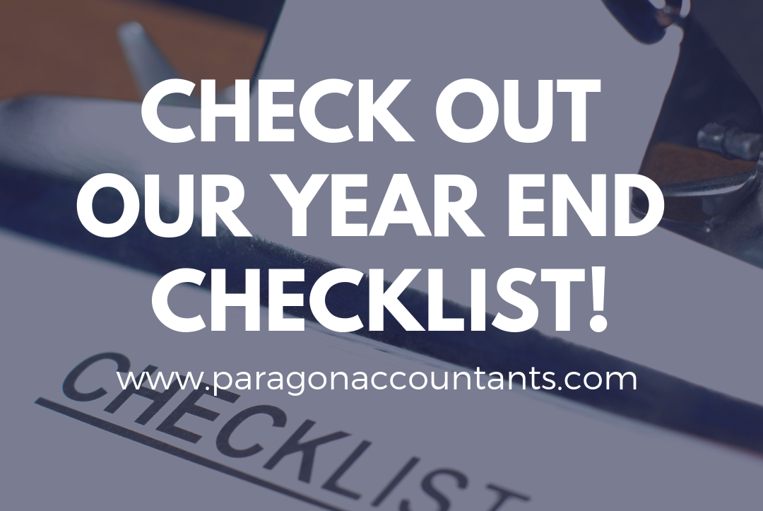 Paragon Accountants' Year End Checklist