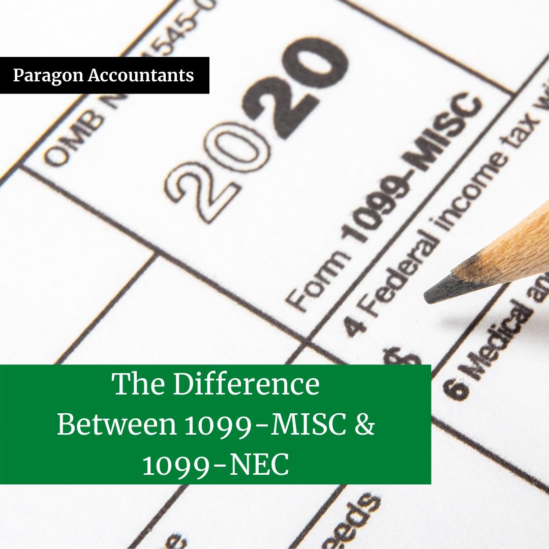 1099-NEC versus 1099-MISC